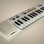 3D Casio Keyboard by jenninexus