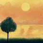 The Sunset Bird by KingSid1412