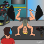 The Gym Junkie by andypdm