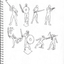Practice: Armory 2 - Unarmored Poses by Emersomatic