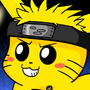Pikachu x Naruto by Axelstation