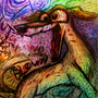 Acid whippet by DrugFueledAnimals