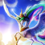 Celestia's sunrise. by Smileykaya