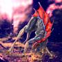 Scared fantazy creature by Kirienitram
