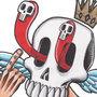 Floaty Skull by BeneathTheFloorboard