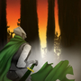Green Knight by TrisketTheBisket