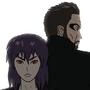 Major Kusanagi and Agent Jensen by Perceptor555