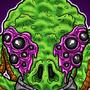 Alien Octopus by FogStudio