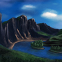 Landscape by Ballu-Corsair