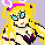 Pixel Petty Blonde by Luwunds579
