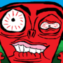 ANGRY RED MAN by marsmallowman
