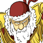 Half heroic Santa