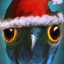 Daily Imagination #109 - Christmas Owl by Xephio