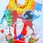 Epic Santa by Vuruna