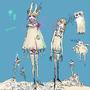 Devil Bunny by Bluzlbee