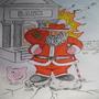 Santa Breaking the Bank! by Murtae