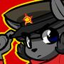 Commie kitty by SovietCatParty