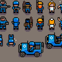 pixel art for UltimoWars: Bootcamp