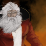 epic santa by chiwall