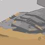 Jakku Wasteland by redonion