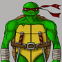 Teenage Mutant Ninja Turtle Raphael. by Dharkside