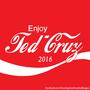 Presidential Soda Pop Series #1 Ted Cruz by CunninghamCreative