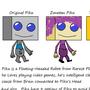 Piku the Cute Robot Buddy by ravil32