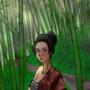 Onna-bugeisha & komuso by tkgmalice