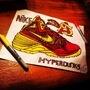 Custom hyperdunks by StevieHarrisonIII