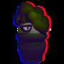Little 3D Trash Buddy (transparent) by NateJo