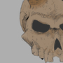 Skull by PunkPiglet