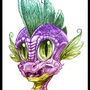 Spike portrait. by Smileykaya