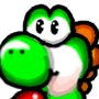 New Resolution Yoshi by Edward-MoonBeam