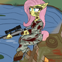 fluttershy sniper pro by GH0ST-FAC3