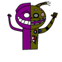 Purple Guy y Springtrap by JuanpiMartel