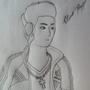 Self Portrait Drawing [99E] by 1999Elias