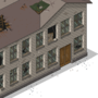 Pixel art iso barracks by Ransom00