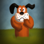 "A Dog From A Game ""Duck Hunt"" by Xmarkiux"