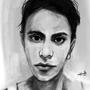 Portrait @carolizard by 07raffaello