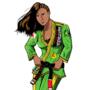 Laura Matsuda Brazilian Jiujutsu Gi Colored by eMokid64
