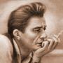 Johnny Cash Portrait by SoraNgin