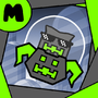 My Geometry Dash Icon by MarcusGamez