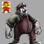 Super Mario by FabioGioffre