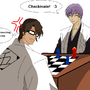 Aizen Vs Gin In Chess