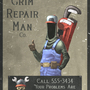 The Grim Repair Man by Doomsberry