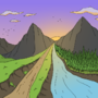 Big Rock Candy Mountains by Slippery-Nipple