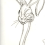 Bugs Bunny Study 1 by geoxen
