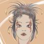 Tattoed Punk Girl by SaraVinhal