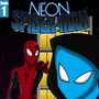 Neon Spider-Man Issue 1 by Plazmix
