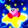 Kirby in the stars by Seymour